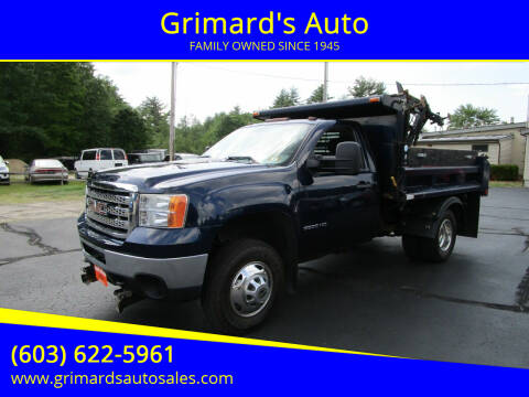 2012 GMC Sierra 3500HD CC for sale at Grimard's Auto in Hooksett NH