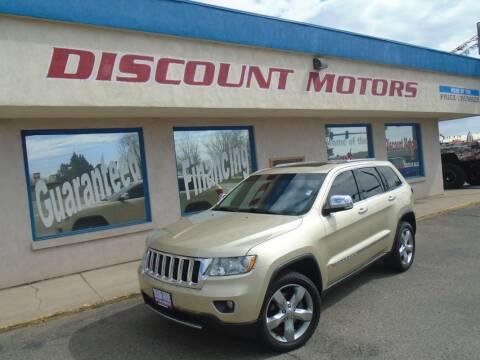 2011 Jeep Grand Cherokee for sale at Discount Motors in Pueblo CO