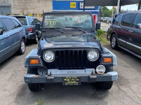 1998 Jeep Wrangler for sale at Rallye  Motors inc. in Newark NJ