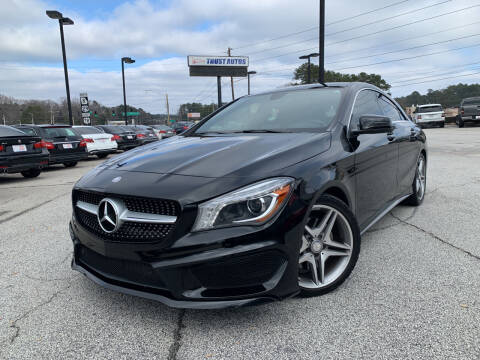 2014 Mercedes-Benz CLA for sale at Trust Autos, LLC in Decatur GA