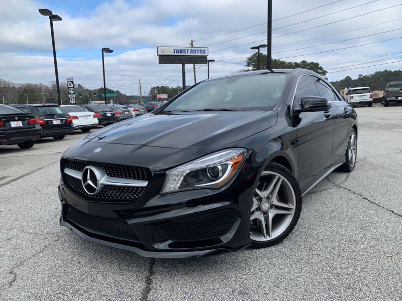 2014 Mercedes-Benz CLA for sale at Trust Autos, LLC in Decatur GA