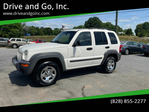 2002 Jeep Liberty for sale at Drive and Go, Inc. in Hickory NC