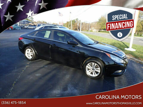 2013 Hyundai Sonata for sale at CAROLINA MOTORS in Thomasville NC