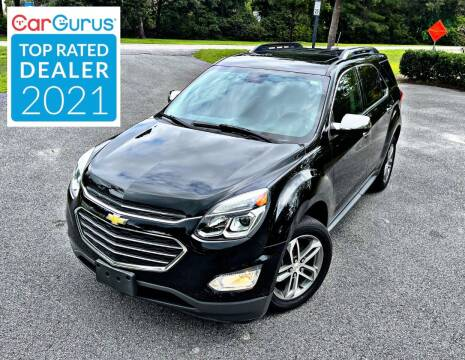2016 Chevrolet Equinox for sale at Brothers Auto Sales of Conway in Conway SC