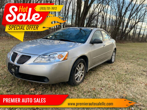 2005 Pontiac G6 for sale at PREMIER AUTO SALES in Martinsburg WV