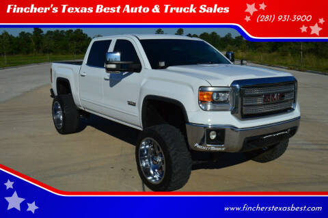 2014 GMC Sierra 1500 for sale at Fincher's Texas Best Auto & Truck Sales in Tomball TX