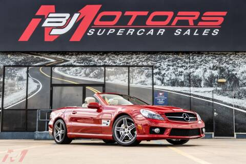 2009 Mercedes-Benz SL-Class for sale at BJ Motors in Tomball TX