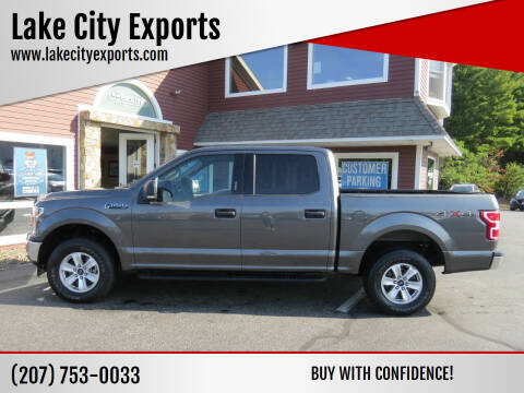2018 Ford F-150 for sale at Lake City Exports in Auburn ME
