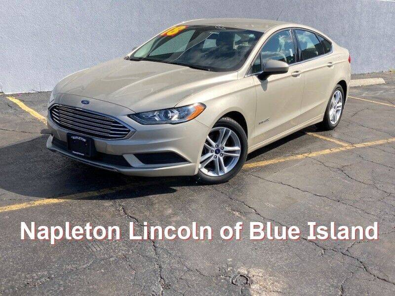 2018 Ford Fusion Hybrid for sale in Blue Island, IL