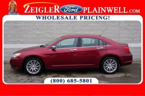 2011 Chrysler 200 for sale at Zeigler Ford of Plainwell- michael davis in Plainwell MI