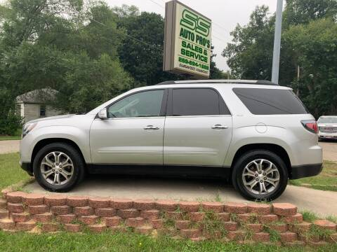 2015 GMC Acadia for sale at SS AUTO PRO'S in Otsego MI
