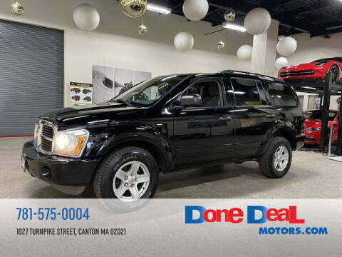 2005 Dodge Durango for sale at DONE DEAL MOTORS in Canton MA