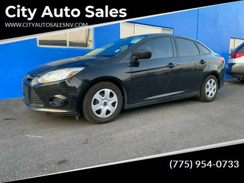 2014 Ford Focus for sale at City Auto Sales in Sparks NV