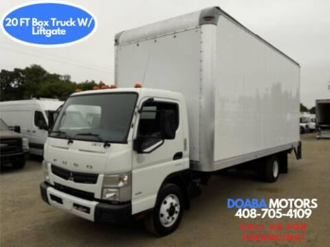 2014 Mitsubishi Fuso FE180 for sale at DOABA Motors - Box Truck in San Jose CA