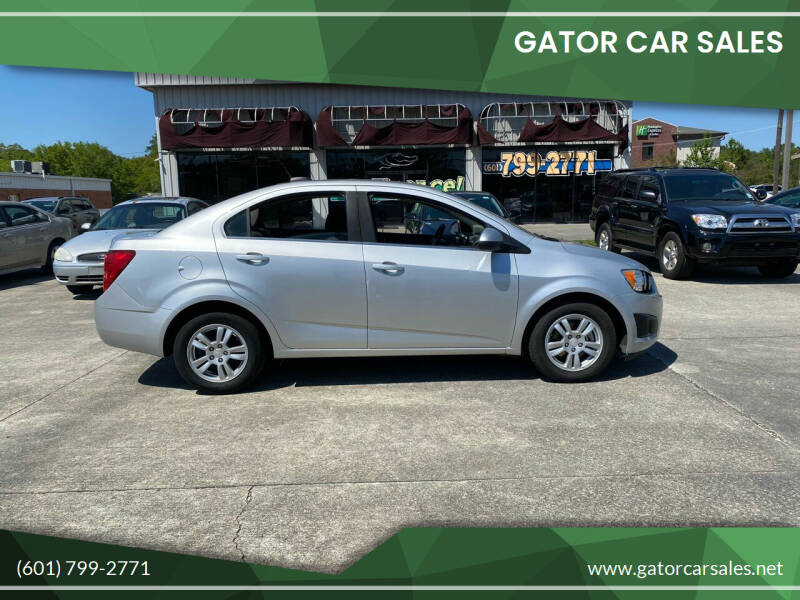 2015 Chevrolet Sonic for sale at Gator Car Sales in Picayune MS