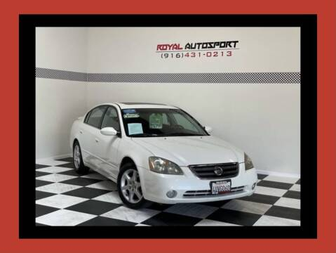 2002 Nissan Altima for sale at Royal AutoSport in Sacramento CA