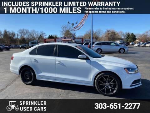 2017 Volkswagen Jetta for sale at Sprinkler Used Cars in Longmont CO