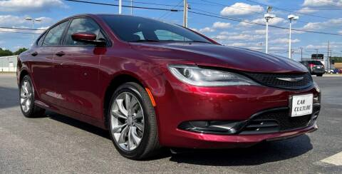 2016 Chrysler 200 for sale at Car Culture in Warren OH