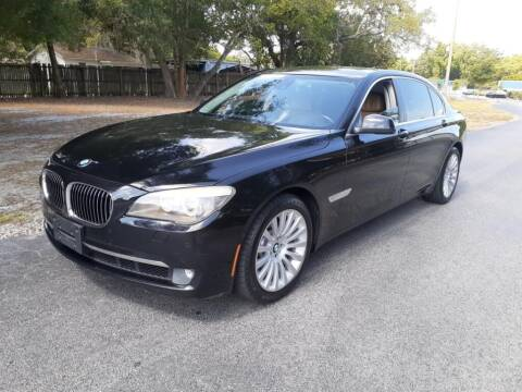 2012 BMW 7 Series for sale at Royal Auto Mart in Tampa FL