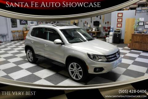 2012 Volkswagen Tiguan for sale at Santa Fe Auto Showcase in Santa Fe NM