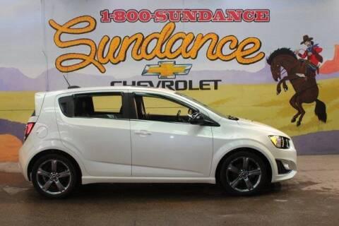 2016 Chevrolet Sonic for sale at Sundance Chevrolet in Grand Ledge MI