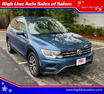 2018 Volkswagen Tiguan for sale at High Line Auto Sales of Salem in Salem NH