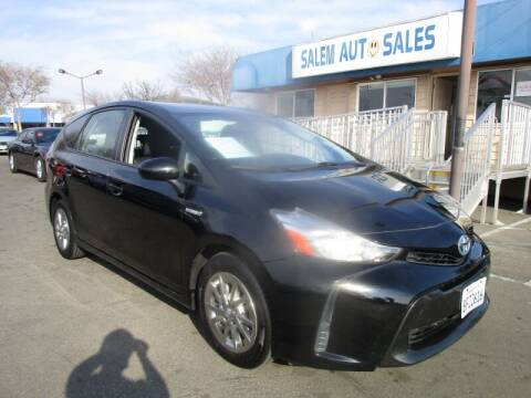 2015 Toyota Prius v for sale at Salem Auto Sales in Sacramento CA