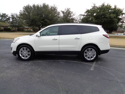 2015 Chevrolet Traverse for sale at BALKCUM AUTO INC in Wilmington NC