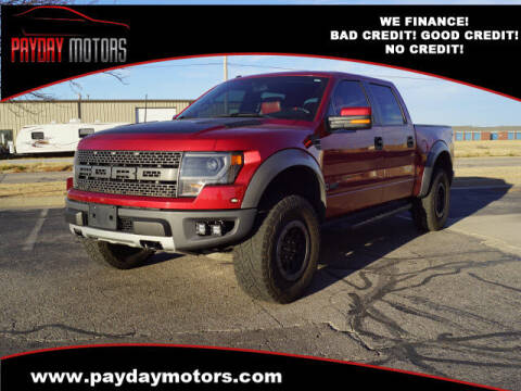 2014 Ford F-150 for sale at Payday Motors in Wichita And Topeka KS