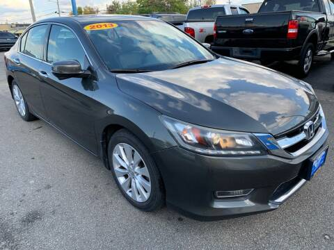 2013 Honda Accord for sale at Eagle Motors in Hamilton OH