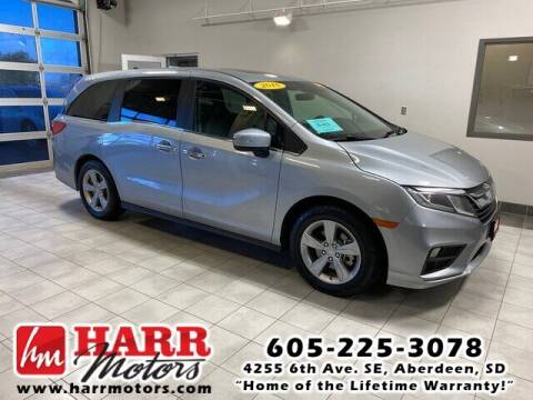 2018 Honda Odyssey for sale at Harr's Redfield Ford in Redfield SD