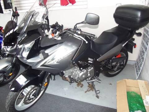 2009 Suzuki VSTROM 650 for sale at Fulmer Auto Cycle Sales - Fulmer Auto Sales in Easton PA