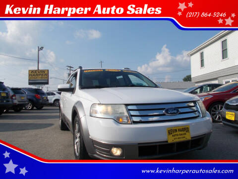 2008 Ford Taurus X for sale at Kevin Harper Auto Sales in Mount Zion IL