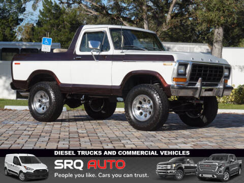 1979 Ford Bronco for sale at SRQ Auto LLC in Bradenton FL