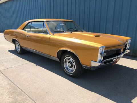 1967 Pontiac GTO for sale at ELIZABETH AUTO SALES in Elizabeth PA