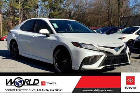 2021 Toyota Camry Hybrid for sale at CU Carfinders in Norcross GA
