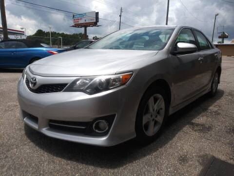 2013 Toyota Camry for sale at Best Buy Autos in Mobile AL