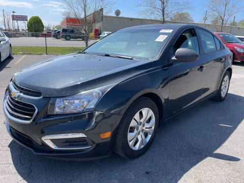 2016 Chevrolet Cruze Limited for sale at Diana Rico LLC in Dalton GA