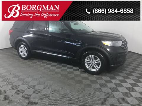 2021 Ford Explorer for sale at BORGMAN OF HOLLAND LLC in Holland MI