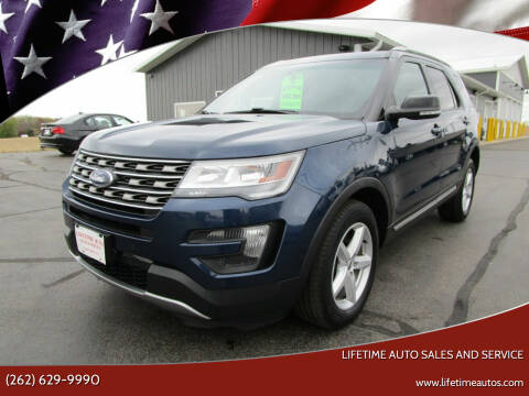 2016 Ford Explorer for sale at Lifetime Auto Sales and Service in West Bend WI