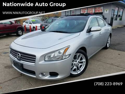 2010 Nissan Maxima for sale at Nationwide Auto Group in Melrose Park IL