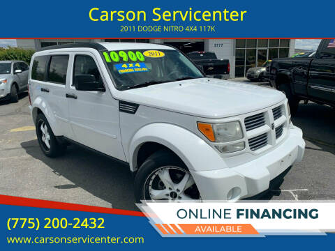 2011 Dodge Nitro for sale at Carson Servicenter in Carson City NV