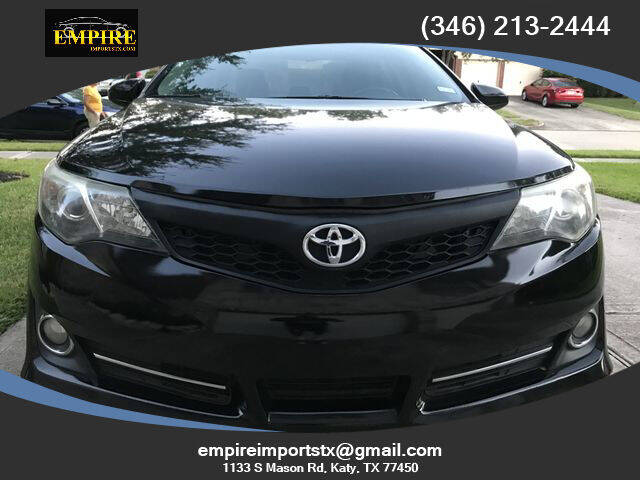 2013 Toyota Camry for sale at EMPIREIMPORTSTX.COM in Katy TX
