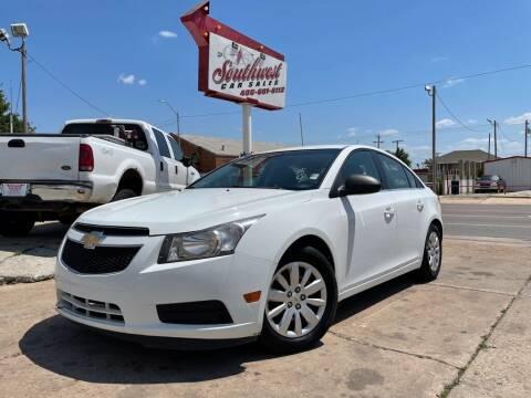 2011 Chevrolet Cruze for sale at Southwest Car Sales in Oklahoma City OK