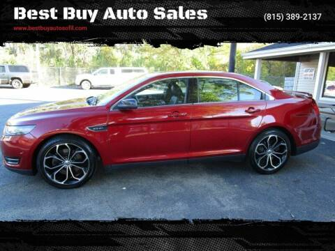 2013 Ford Taurus for sale at Best Buy Auto Sales in South Beloit IL