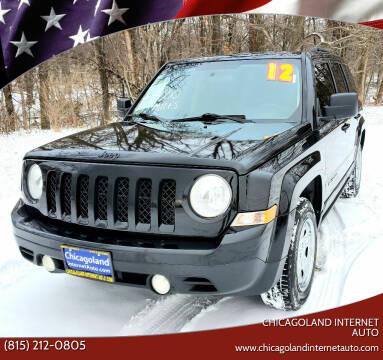 2012 Jeep Patriot for sale at Chicagoland Internet Auto - 410 N Vine St New Lenox IL, 60451 in New Lenox IL