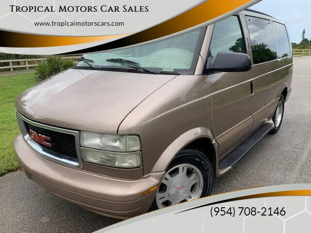 2003 GMC Safari for sale at Tropical Motors Car Sales in Deerfield Beach FL