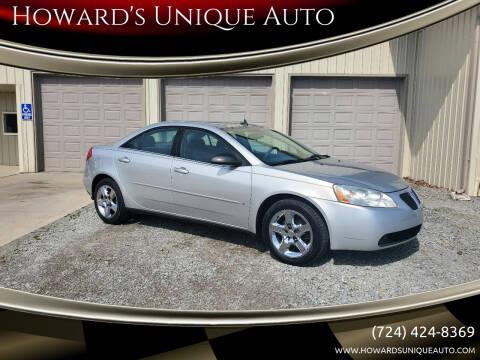 2009 Pontiac G6 for sale at Howard's Unique Auto LLC in Mount Pleasant PA