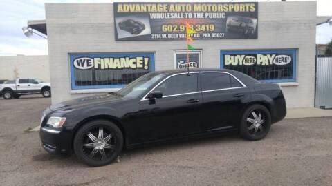2013 Chrysler 300 for sale at Advantage Motorsports Plus in Phoenix AZ