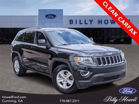 2015 Jeep Grand Cherokee for sale at BILLY HOWELL FORD LINCOLN in Cumming GA